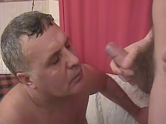 Experienced gay loves hard mighty cocks
