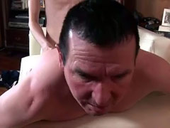 Mature guy begs to be butt fucked by a hard twink