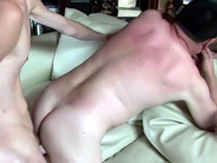 Thick twink dick fits inside an old man's asshole