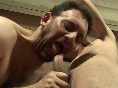 Older guy satisfies his desire for big young dick
