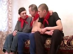 You Won`t Tell Whose Cock Is Where On Our Insane Gay Videos. Mature Backdoor Bandits Give Some Cock-Handling Lessons To Hot Boys!