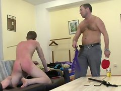 See Hot Horny Men Leave Their Mark On Adorable Twinks! Spanking Gives Place To Hardcore Anal And Oral Sex, And Then More Spanking Comes Righ